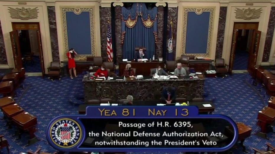 Rebecca Grant: Congressional override of Trump's defense bill veto was inevitable. So why did he veto?