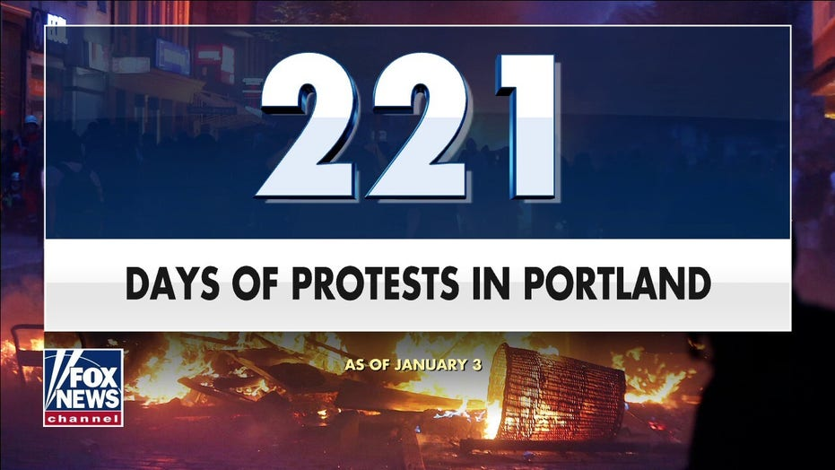 Portland's New Year's Eve riots cost city tens of thousands dollars in damage, mayor says