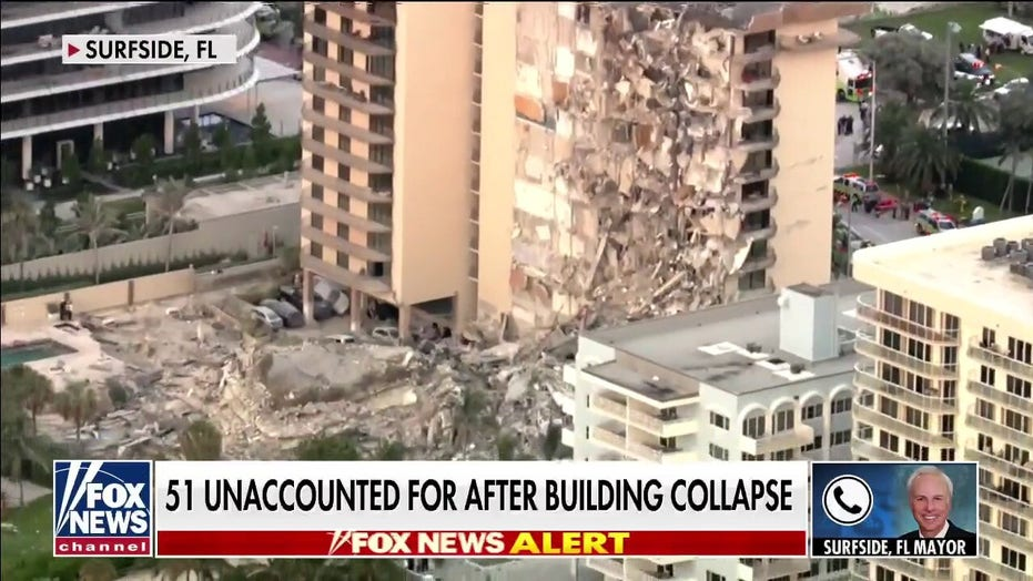 Surfside, Florida mayor on building collapse: A tragedy beyond any of our imaginations'