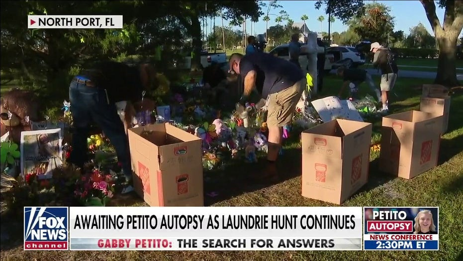 Results of Gabby Petito's autopsy set to be revealed as search for Brian Laundrie continues