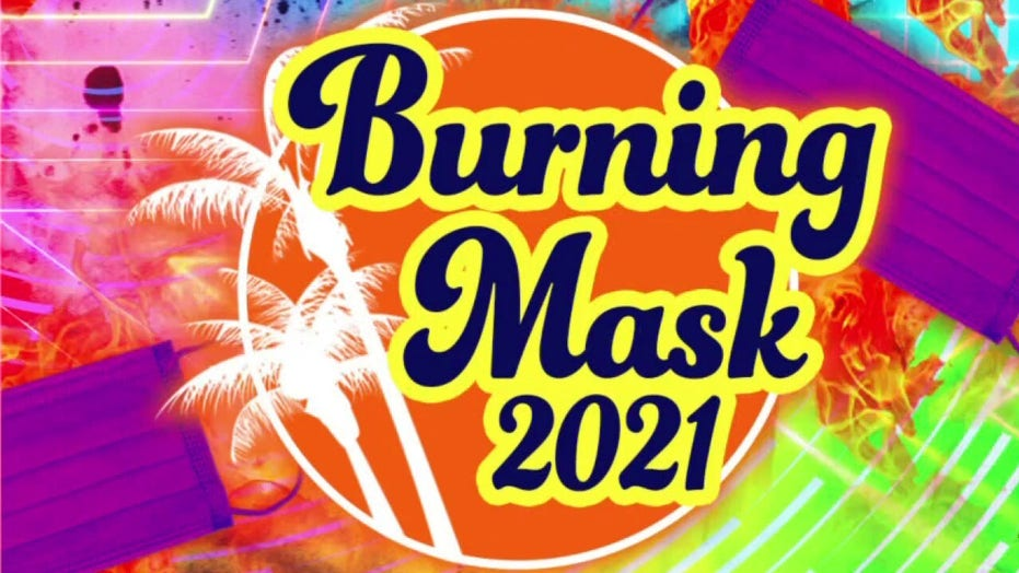 Burning Man or Burning Masks? Tucker Carlson suggests a COVID-era replacement for the iconic festival