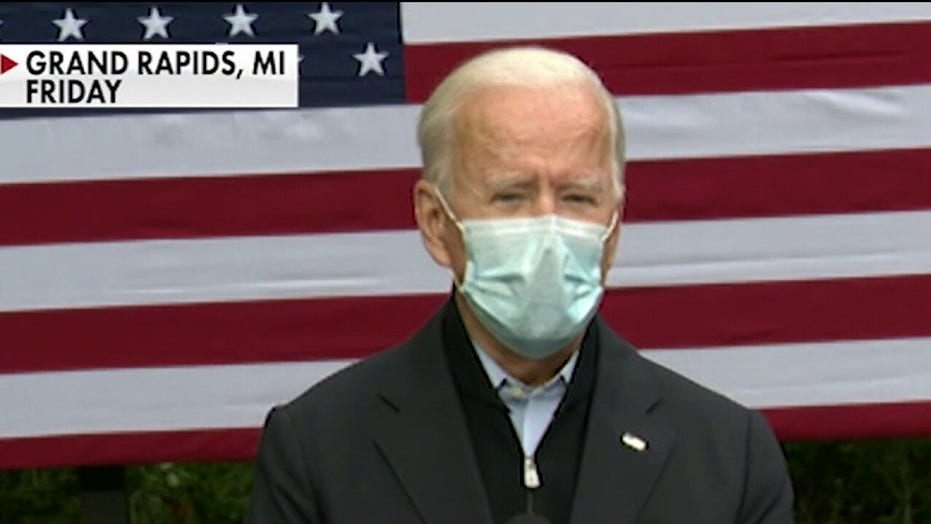 Biden campaign pledges to disclose the result of every coronavirus test