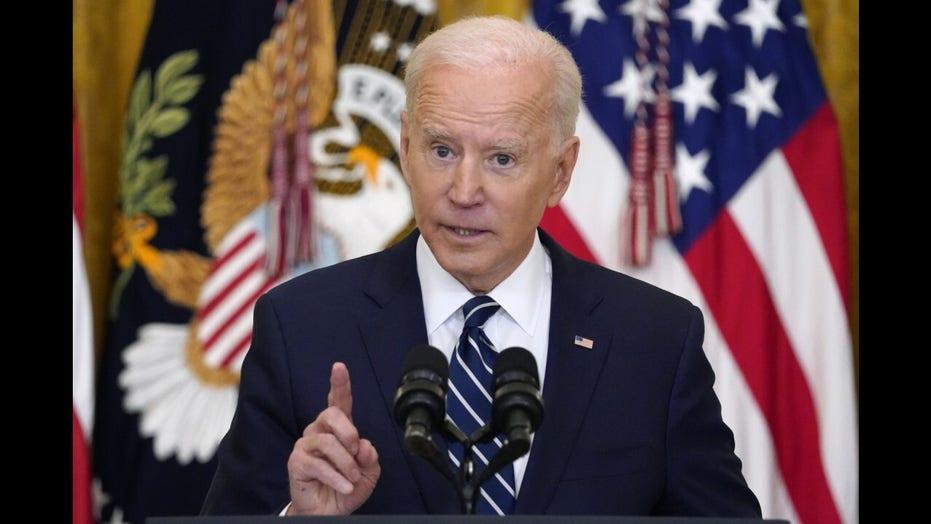 Joe Biden snubs FOX News' Peter Doocy in first press conference