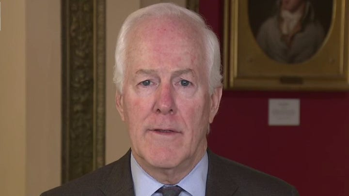 Cornyn: Democrats trying to make a wish list out of coronavirus relief is 'shameful'