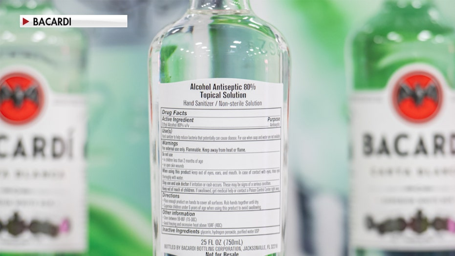 Amid shortage, hundreds of distilleries are now making hand sanitizer