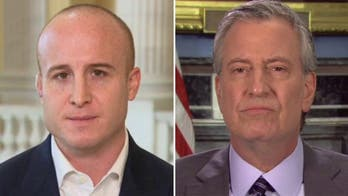 New York Rep. Max Rose is ashamed that Bill de Blasio is a Democrat and tells him to 'stop playing politics'
