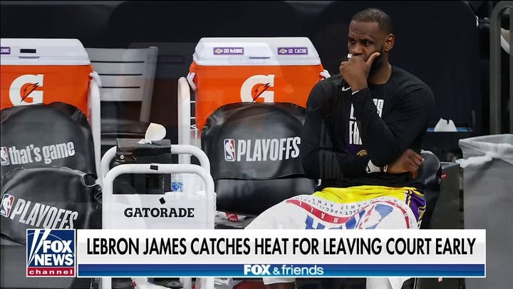 Clay Travis on Lakers star leaving court early: 'This is just LeBron'