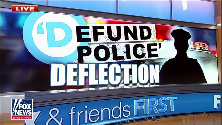 Mainstream media continues backing White House, says GOP wants to defund police