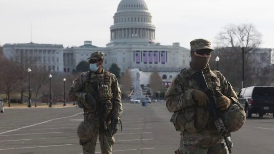 代表. Waltz glad to see 'overwhelming force' in DC to deter any armed inauguration protesters