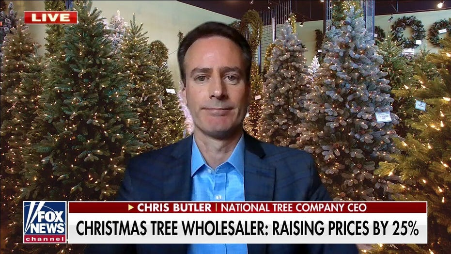 Christmas tree manufacturer warns of supply shortages, price increases: 'Go out and buy today'