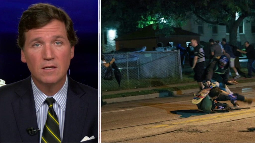 'Tucker Carlson Tonight' airs new video of deadly Kenosha shooting