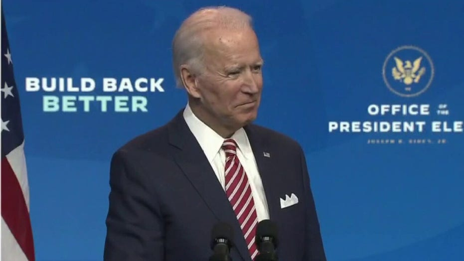 Biden 'wants to turn back the clock' to familiar policies: Goodwin