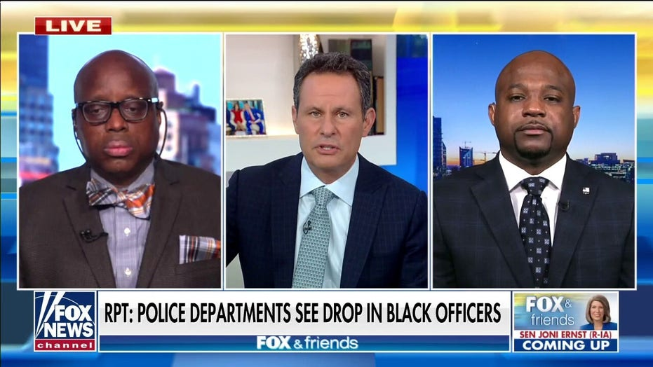 Cities see declines in recruitment of Black officers