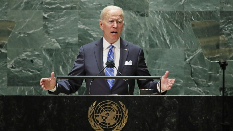 Hannity rips Biden for ignoring crises in 'tired, weak and frail' U.N. General Assembly address
