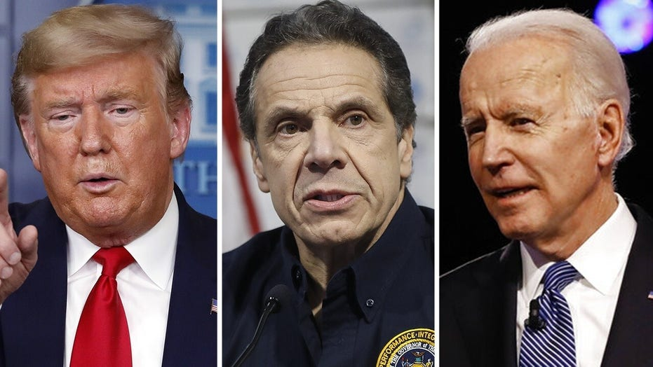 Trump: Cuomo would be a better candidate to run against than Biden