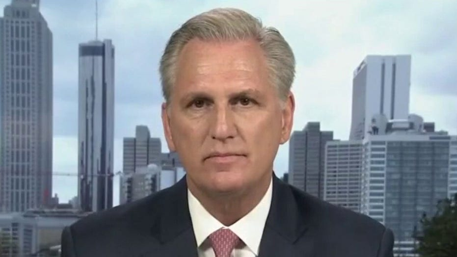 McCarthy reacts to calls for Liz Cheney to be removed from leadership