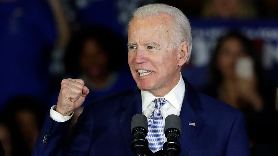 Biden sweeps the south in Super Tuesday victory