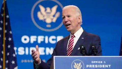Biden will have to 'represent the middle-ground' of the Democratic party: David Asman