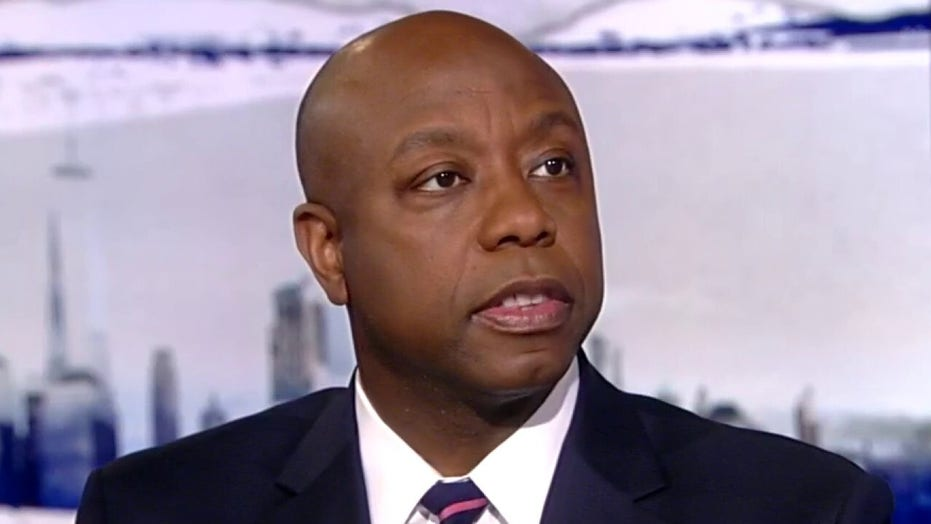 Sen. Tim Scott says impeachment was a 'flawed, failed, fictional' attempt to remove President Trump