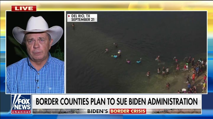 Texas county official: Hundreds of thousands of smugglers are out in rural Texas trying to avoid apprehension