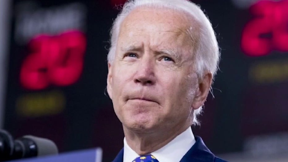 Biden calls on Senate to 'take a step back from the brink' and not vote on Barrett