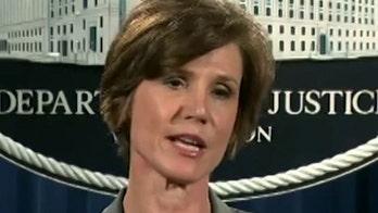 Former Deputy AG Sally Yates testifies on Capitol Hill