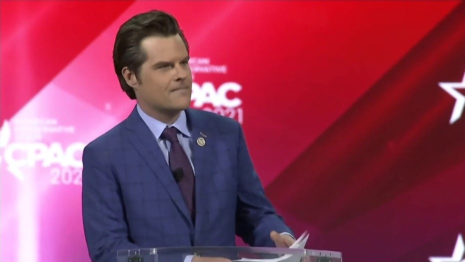 Gaetz blasts Cuomo at CPAC: Establishment considers him 'a cross between King David and Tom Brady'