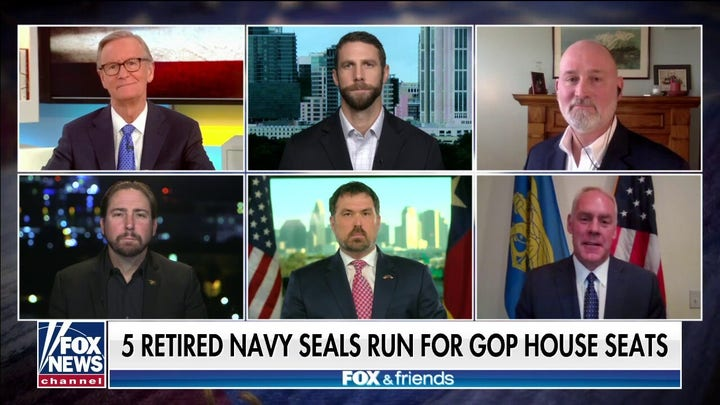 Five former Navy SEALs running for Congress in 2022: 'We're gonna save this country'
