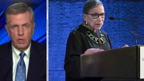 Brit Hume reacts to death of Ruth Bader Ginsburg and concerns ahead of election