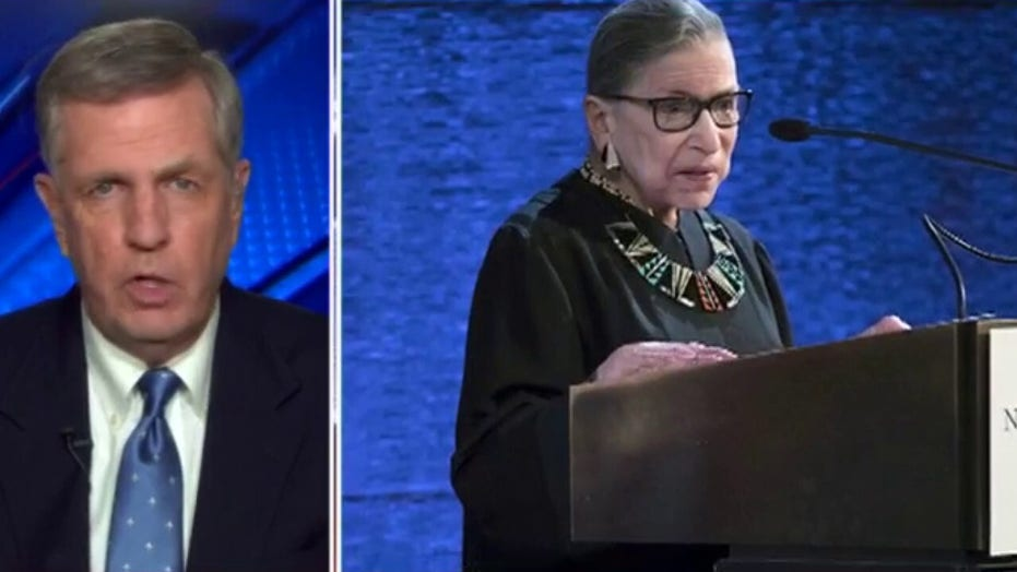 Brit Hume reacts to RBG death: Our political institutions undergoing 'stress test'