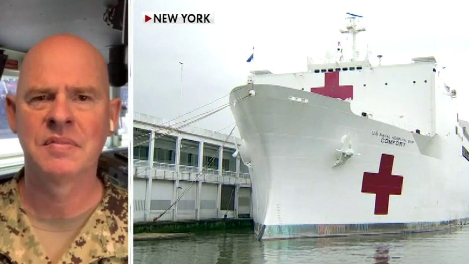 USNS Comfort Capt. Patrick Amersbach on treating COVID-19 patients in New York
