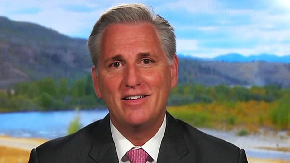 Rep. McCarthy: Trump showed that he puts people in front of politics