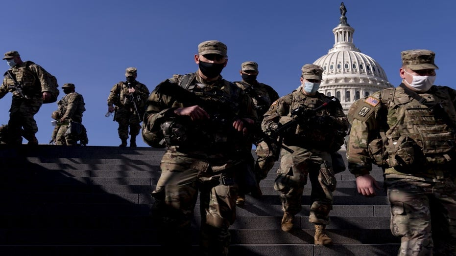 National Guard troops undergo extra vetting ahead of Inauguration Day