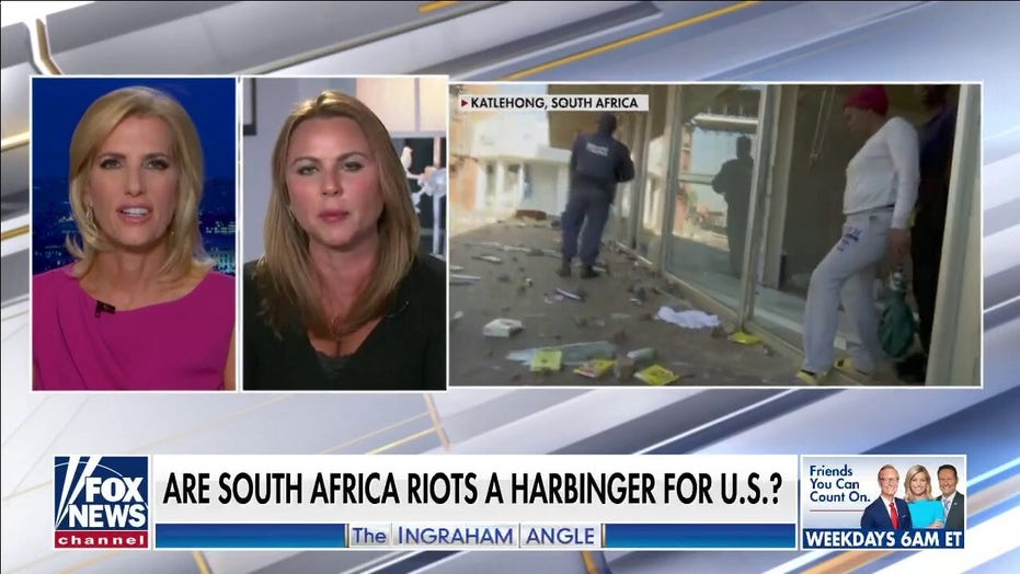 Lara Logan: South Africa's unrest 'eerily similar' to racial tensions in US