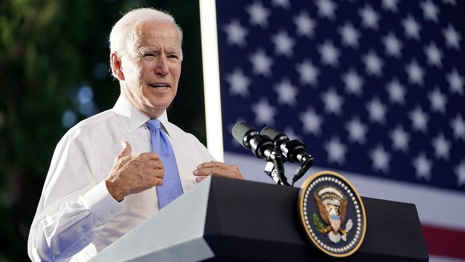Biden releases 'gender equity' plan that calls for eliminating cash bail