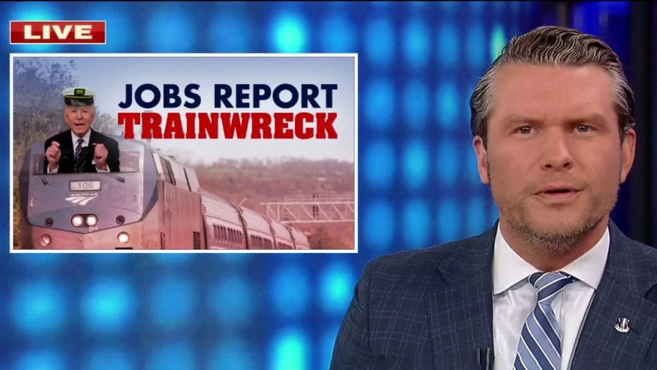 Pete Hegseth blasts 'disastrous' jobs report as Biden tries to spin