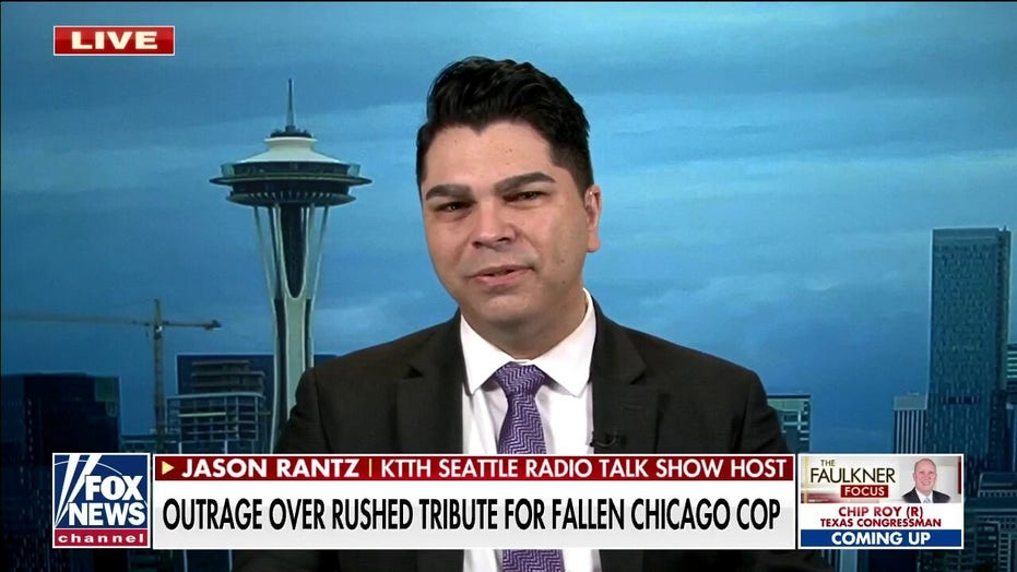 Jason Rantz blasts Chicago mayor after ritual for fallen officer was skipped: 'Incredibly disturbing'