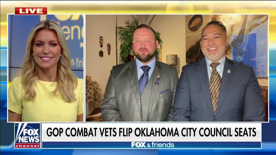 GOP combat vets flip Oklahoma city council seats: Defund police push was 'last straw'