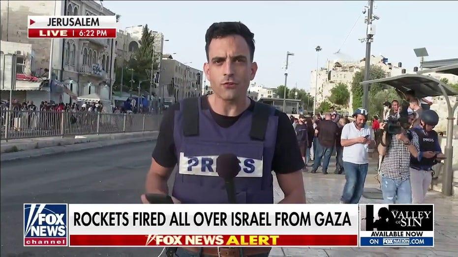 Hamas fires rockets into Israel amid Jerusalem unrest
