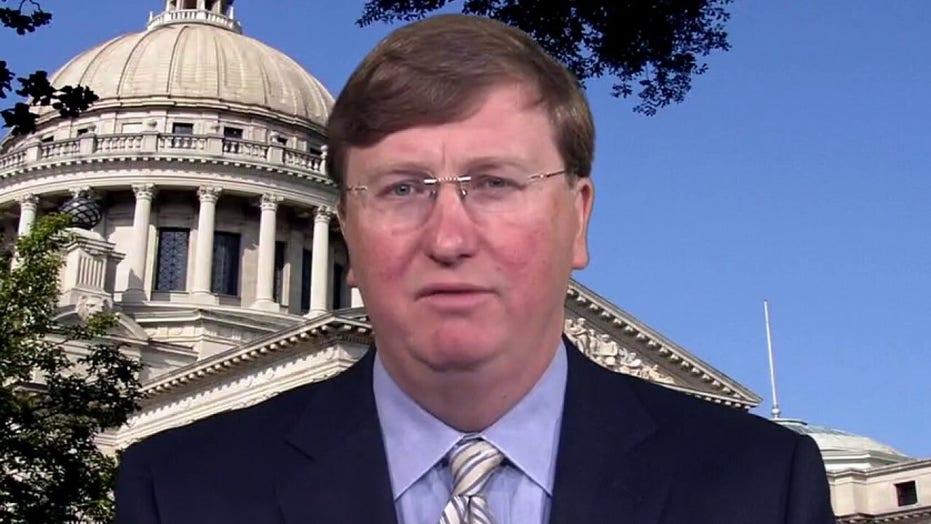 Mississippi Gov. Tate Reeves on battle over mask mandates