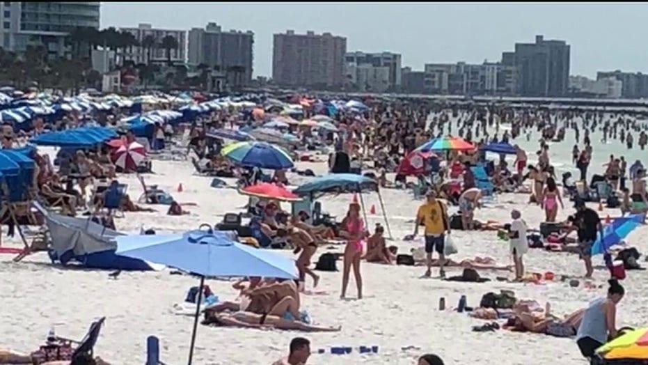 "Картинки по запросу ""florida beaches coronavirus"""