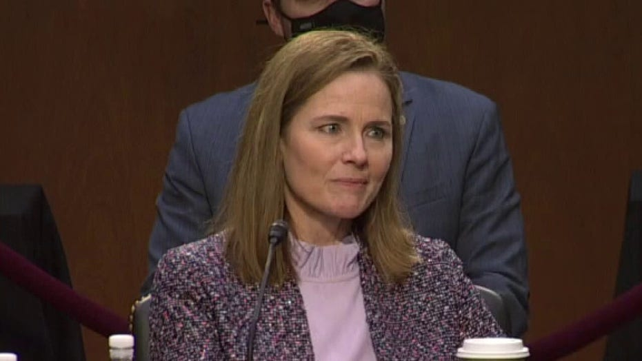 Judge Amy Coney Barrett reveals her favorite law school class to teach