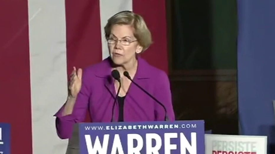Warren says voters should have 'more choice' between candidates