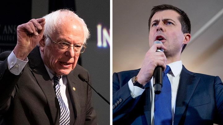 Pete Buttigieg, Bernie Sanders say they want to move past the Iowa caucuses