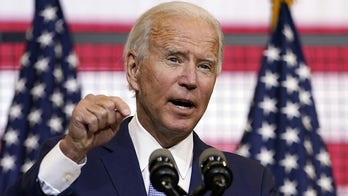 Biden banks on familiar image in battle over urban violence