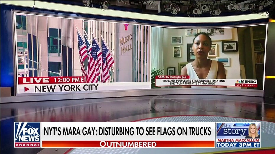 Prominent Black voices hit NYT's Mara Gay for playing 'race card' amid backlash over American flag comments