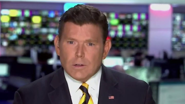 Baier: I haven't seen presidents flip through notes like Biden to read answers