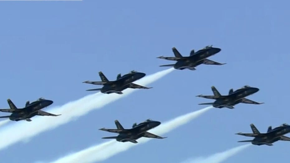Blue Angels bring the 'sound of freedom' on Fourth of July at Kansas City Air Show