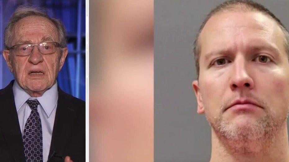 Dershowitz: George Floyd officer Derek Chauvin unlikely to get fair trial