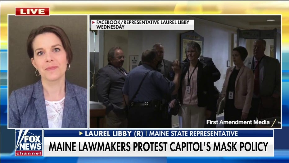 Maine GOP lawmakers lose committee assignments for refusing to wear masks: 'It's a political game'